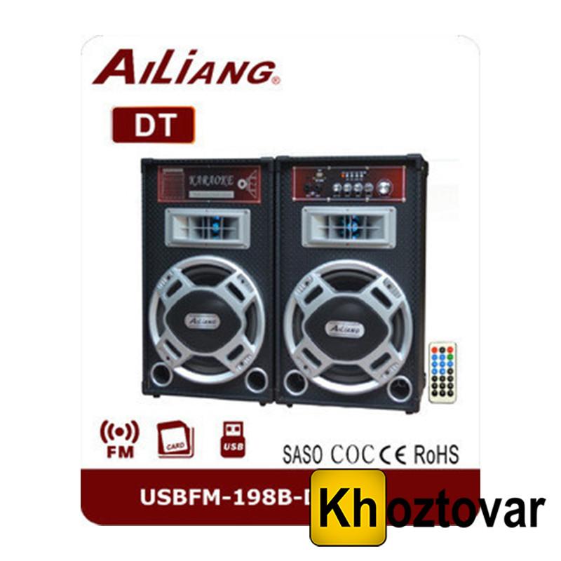 Активная акустика Ailiang USBFM-198B-DT