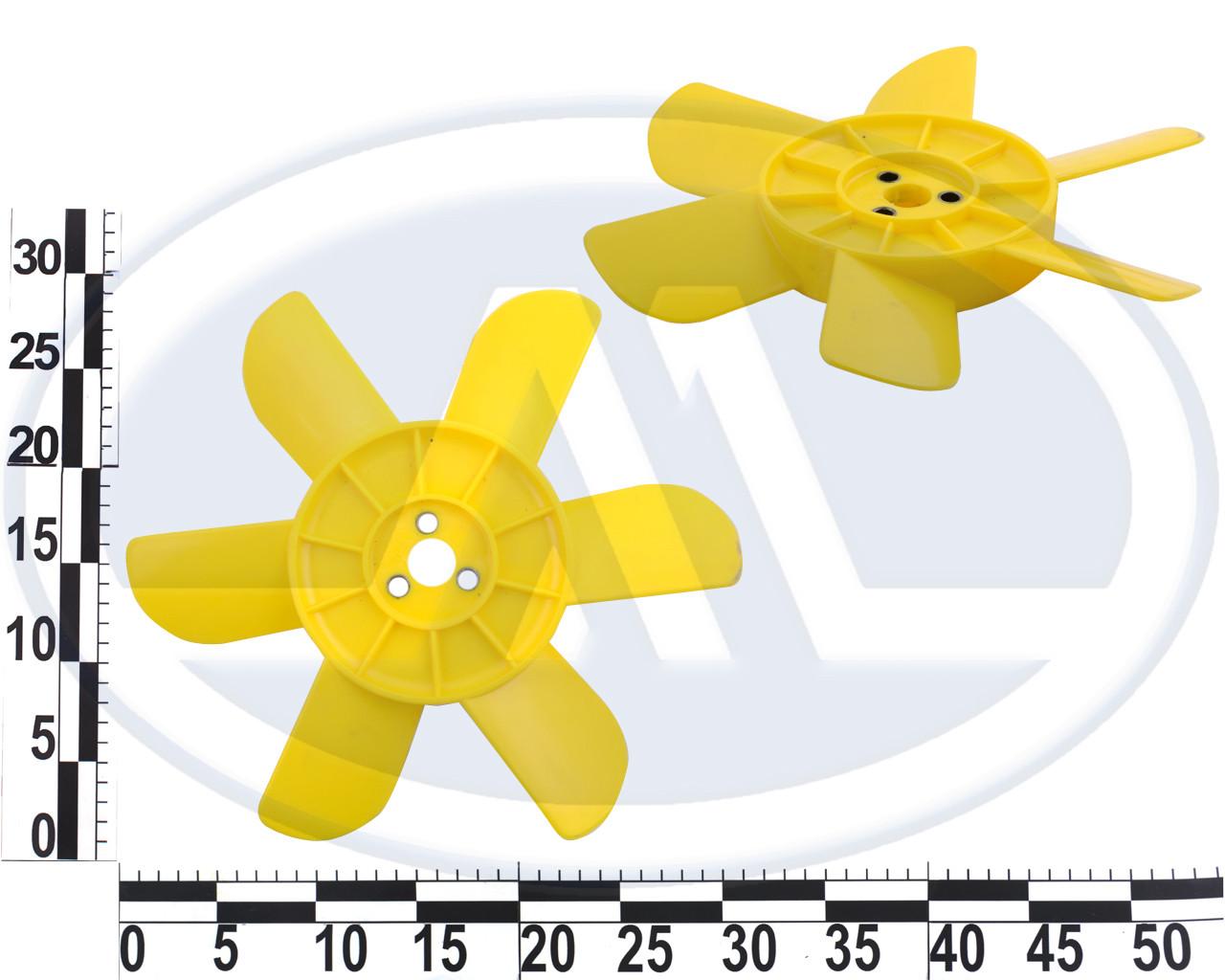 Крыльчатка вентилятора 2101-2107,2121,21213 с металлической втулкой