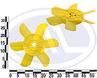Крильчатка вентилятора 2101-2107,2121,21213 з металевою втулкою