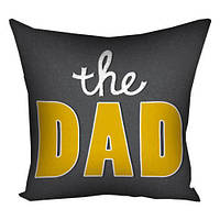 Подушка с принтом The Dad (3P_FAM023)
