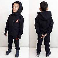 Теплый спортивный костюм для мальчика   Стильный спортивный костюм с  начёсом для подростка 574d084f3f3