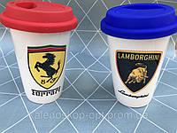 Термо кружка чашка марка машин Bentley,Lamborghini чашка для мужчин , фото 1