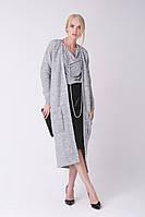 SEWEL Пальто CW465 (42-44, светло-серый меланж, 60% акрил/ 30% шерсть/ 10% эластан), фото 1