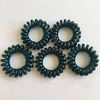 Резинка «Спиралька» набор 5 шт зелёнка