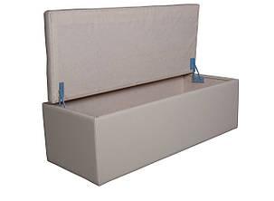 Пуф мягкий прикроватный с коробом 02, фото 2