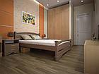 Кровать полуторная с натурального дерева в спальню ТИС АТЛАНТ 2 120*190 сосна, фото 2