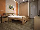 Кровать полуторная с натурального дерева в спальню ТИС АТЛАНТ 2 120*190 сосна, фото 6