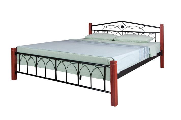 Кровать Элизабет  двуспальная 190х160, белая, фото 2