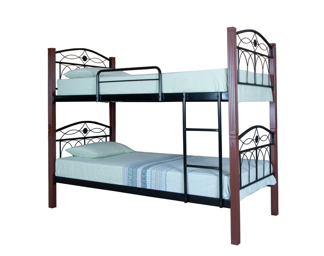 Кровать Элизабет двухъярусная  200х90, черная