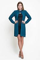 SEWEL Пальто CW335 (46-48, морская волна, 60% акрил/ 30% шерсть/ 10% эластан), фото 1