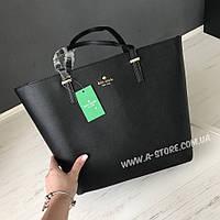 Элегантная сумка -шоппер копия Kate Spade. В наличии