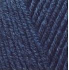 Пряжа Alize Lanagold Сlassic темно-синий №58