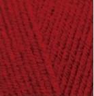 Пряжа Alize Lanagold Сlassic красный №56