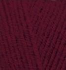 Пряжа Alize Lanagold Сlassic бордовый №57