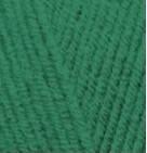 Пряжа Alize Lanagold Сlassic зеленая трава №118