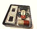 Покерный набор 2 колоды карт, 100 фишек, фото 3