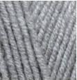 Пряжа Alize Lanagold Fine серый меланж №21