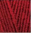 Пряжа Alize Lanagold Fine красный №56
