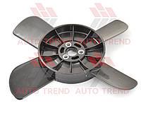 Крыльчатка вентилятора 2101-2107 черная