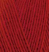 Пряжа Alize Lanagold 800 красный №56