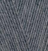 Пряжа Alize Lanagold 800 средне-серый меланж №182