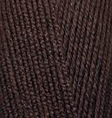 Пряжа Alize Lanagold 800 коричневый №26