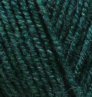 Пряжа Alize Lanagold 800 темно-зеленый №426