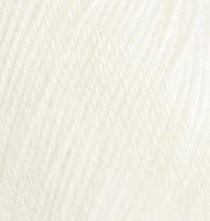 Детская пряжа Alize Baby Wool молочный №62