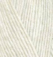Детская пряжа Alize Baby Wool кремовый №01