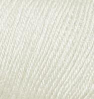 Детская пряжа Alize Baby Wool слоновая кость №599