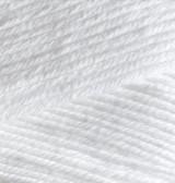Пряжа летняя Alize BELLA белый №55