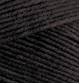 Пряжа летняя Alize BELLA черный №60