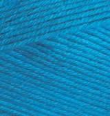 Пряжа летняя Alize BELLA голубой сочи №387