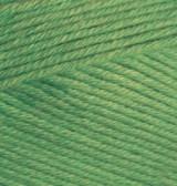 Пряжа летняя Alize BELLA зеленый №492