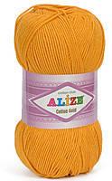 Пряжа летняя Alize Cotton Gold темно-желтый №14
