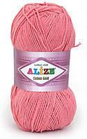 Пряжа летняя Alize Cotton Gold темно-розовый №33