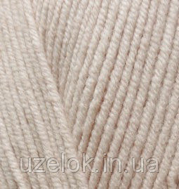 Пряжа летняя Alize Cotton Gold молочно-бежевый №67