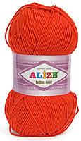 Пряжа летняя Alize Cotton Gold красный №243
