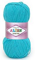 Пряжа летняя Alize Cotton Gold бирюзовый №287