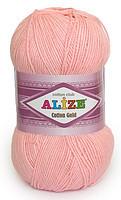 Пряжа летняя Alize Cotton Gold светло-розовый №371