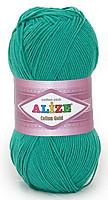 Пряжа летняя Alize Cotton Gold нефрит №610