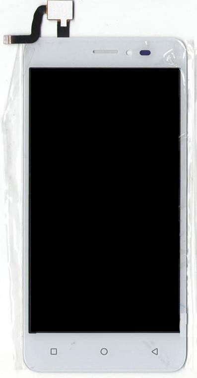 Дисплей Bravis B501 Easy с тачскрином белый Оригинал