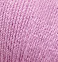 Детская пряжа Alize Baby Wool нежно-розовый №672