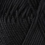 Пряжа летняя YarnArt Begonia цвет черный № 999