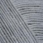 Пряжа летняя YarnArt Jeans цвет серый № 46