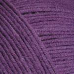 Пряжа летняя YarnArt Jeans цвет фиолетовый № 50