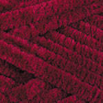 Плюшевая пряжа YarnArt  Dolce цвет бордовый №752