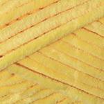 Плюшевая пряжа YarnArt  Dolce цвет желтый №761