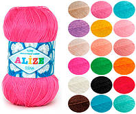 Пряжа летняя Alize Miss оттенок согласно карте цветов