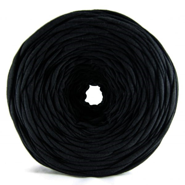 Трикотажная пряжа Pastel XL черный (85м)